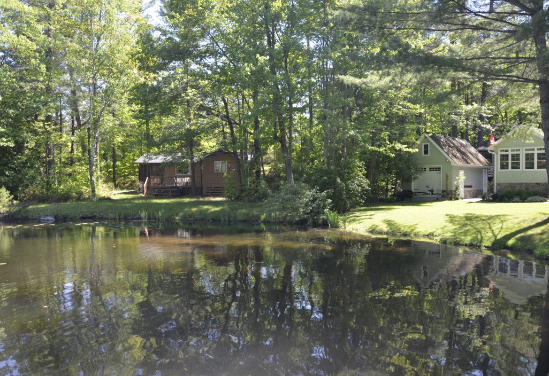 Water front properties : Shore line allowance
